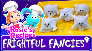 halloween recipes for kids cartoon for kids frightful fancies