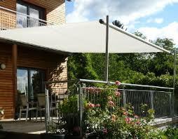 sonnensegel befestigung balkon manuell aufrollbare sonnensegel markise in silver shadeone