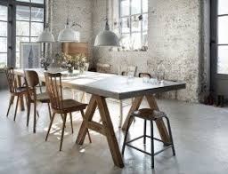rustic industrial dining table foter