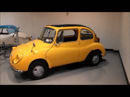 subaru 360 sambar subaru 360 young sport walk about at the aaca museum youtube