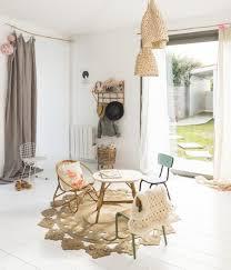 d o chambre vintage inspiration décoration chambre d enfant la kinfolk tapis rétro