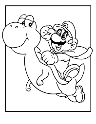 printable pictures mario coloring 78 coloring print