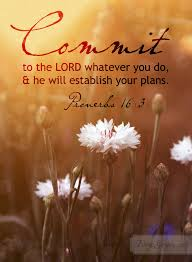 proverbs 16 3 nkjv commit your works to the lord and your