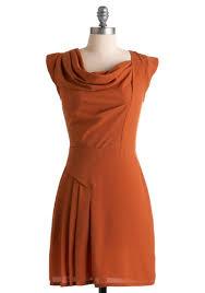 orange spice color sweet orange spice dress mod retro vintage dresses modcloth com