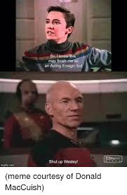 Shut Up Wesley Meme - 25 best memes about shut up wesley meme shut up wesley memes