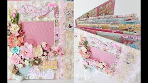 baby girl scrapbook album baby girl scrapbook album great crafty ideas 12 x 12