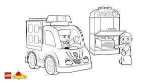 lego duplo police car coloring page coloring page lego duplo