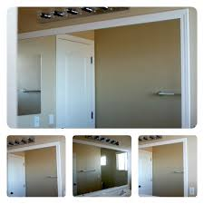 mirror trim for bathroom mirrors frame your mirror that has plastic clips plastic clips bathroom