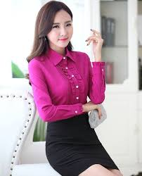 styles of work suites novelty rose slim fashion spring fall formal ol styles work suits