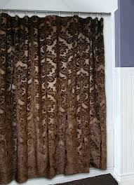 Brown Gold Curtains Curtain Brown And Gold Curtains This Maroon Shower Curtain Comes