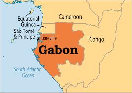 gabon in world map gabon operation world