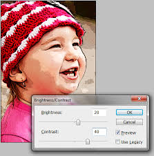tutorial about how to turning photo into cartoon effect with photoshop