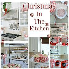 Christmas Decorating Ideas For Kitchen Island by Christmas Decorating In The Kitchenmy Uncommon Slice Of Suburbia