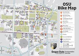 map of oregon state biking finance and administration oregon state