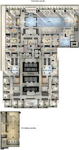 Floor Plan Services Real Estate by Four Seasons Hotel And Private Residences Toronto Amenities Plan