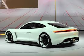 new porsche electric porsche displays how mission e concept came into life drivers magazine
