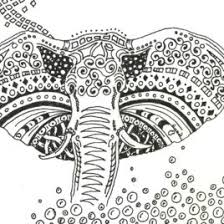 elephant motive littlegore deviantart paisley elephant