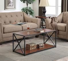 Living Room Coffee Table Sets by Amazon Com Convenience Concepts Tucson Coffee Table Cherry