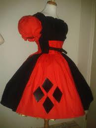 Harley Quinn Halloween Costume Size Harley Quinn Harlequin Halloween Costume Cute Dress Red Black