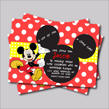 online get cheap minnie mouse birthday invitations aliexpress com