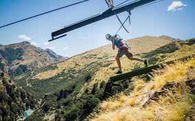 New Zealand Chair Swing You Can Slingshot Yourself Off A Cliff In New Zealand Travel