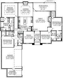 2 4 bedroom house plans floor plan of 4 bedroom house sencedergisi com
