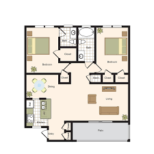 Bath Floor Plans by Floor Plans Colony Oaks Luxury Apartment Living In Bellaire Houston
