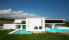 impressive ultra modern house in athens architecture beast images