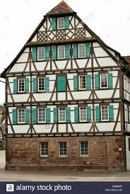 house half timbered german culture germany