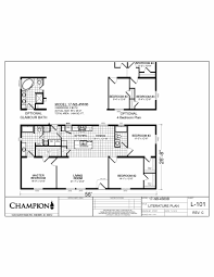 Floor Plans For Trailer Homes New Beginnings Series Floor Plans 20th Century Homes
