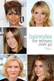 current hairstyles for women in their 40s hairstyles for women over 40
