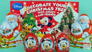 disney chocolate surprise egg mickey mouse zaini decorate