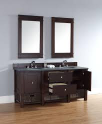 Bathroom Furniture San Diego by Abstron 72 Inch Mahogany Finish Bathroom Vanity Stone Countertop
