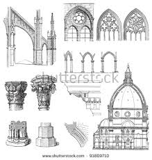 Gothic Architecture Floor Plan Architectural Drawing Stock Images Royalty Free Images U0026 Vectors