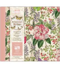 joann fabrics photo albums trimcraft edition botanical notes snap load album 8 x8