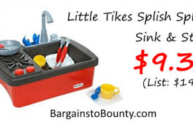 What To Expect During Your Little Tikes Kitchen Sink Without Splish