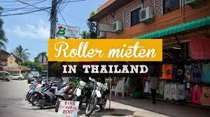 Roller mieten in Thailand – alles was du wissen musst – Reiseblog