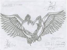 heart w wings barb wires by heyywheresperry on deviantart