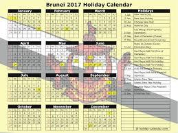 Kalender 2018 Hari Raya Puasa Brunei 2017 2018 Calendar