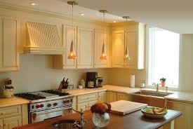 kitchen best galley kitchen warm pendant lights cream wall