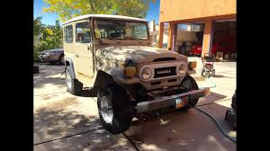 sand jeep for sale for sale 77 u0027 sand fj40 with powersteering ome lift ambulance