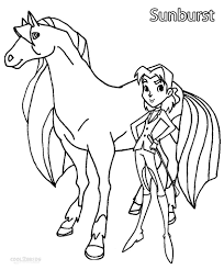 printable horseland coloring pages for kids cool2bkids