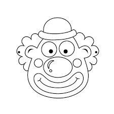 circus and clown coloring pages