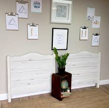 White Twin Headboards by White Twin Headboards Beach House Furniture Twin Size