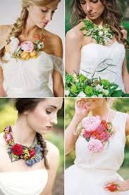 flower necklace wedding images 43 wearable flower wedding accessories jpg