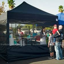 photo booth tent food booth sidewall pack buyshade