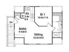 Rv Garage Apartment Rv Garage With 2nd Floor 2 Bedroom Apartment Plan Garage