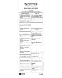 2017 passport application form fillable printable pdf u0026 forms