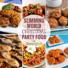 slimming world christmas and new year party food slimming eats