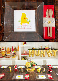winnie the pooh thanksgiving classic modern winnie the pooh baby shower hostess with the
